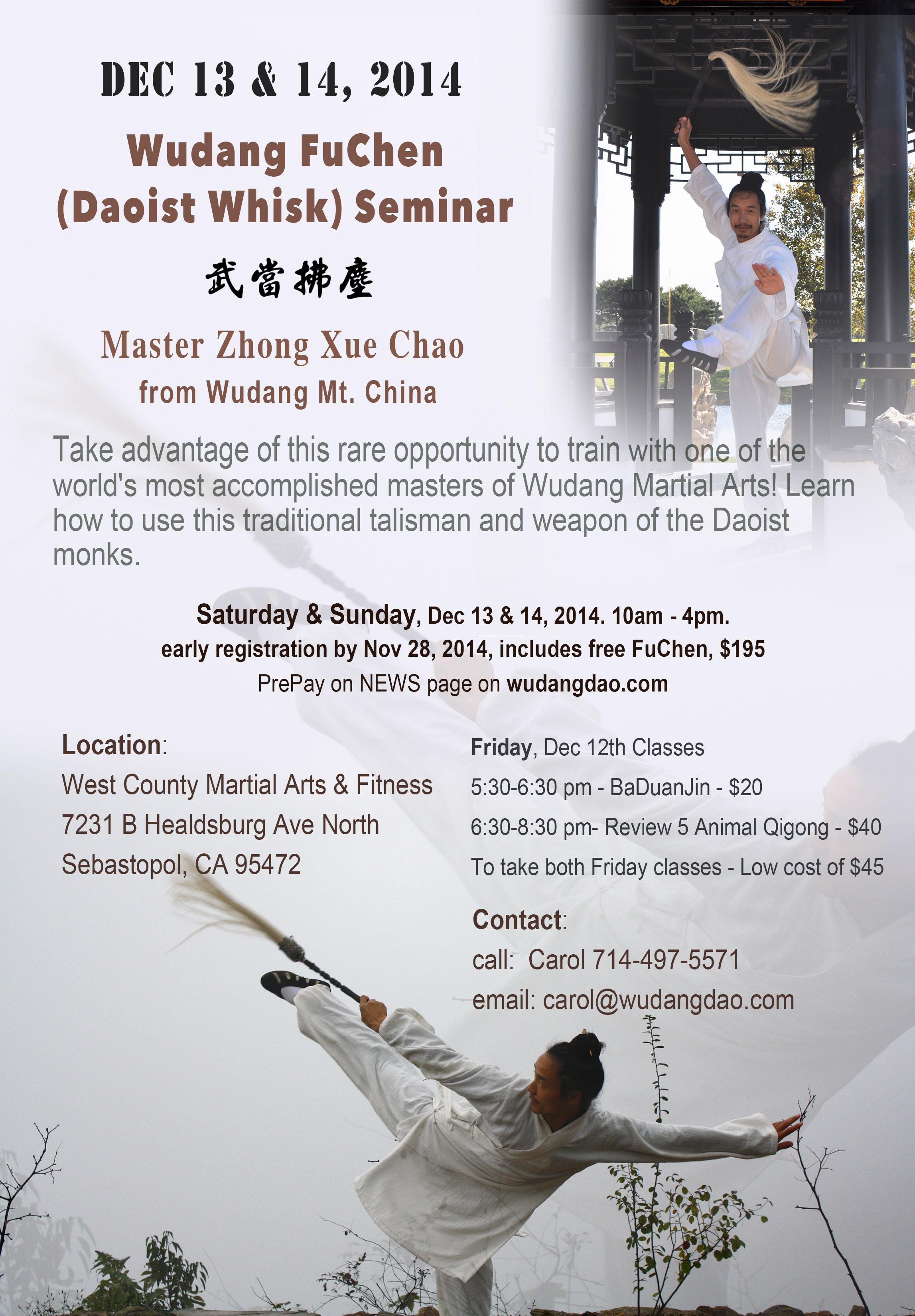 Wudang Fu Chen Seminar