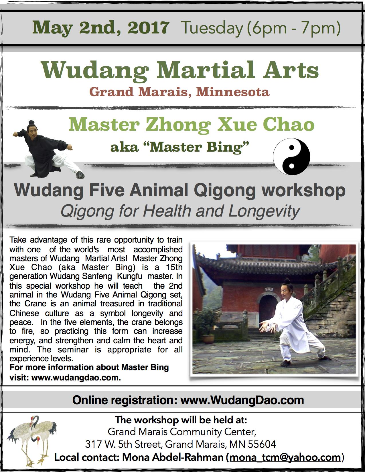 Five Animal Qigong