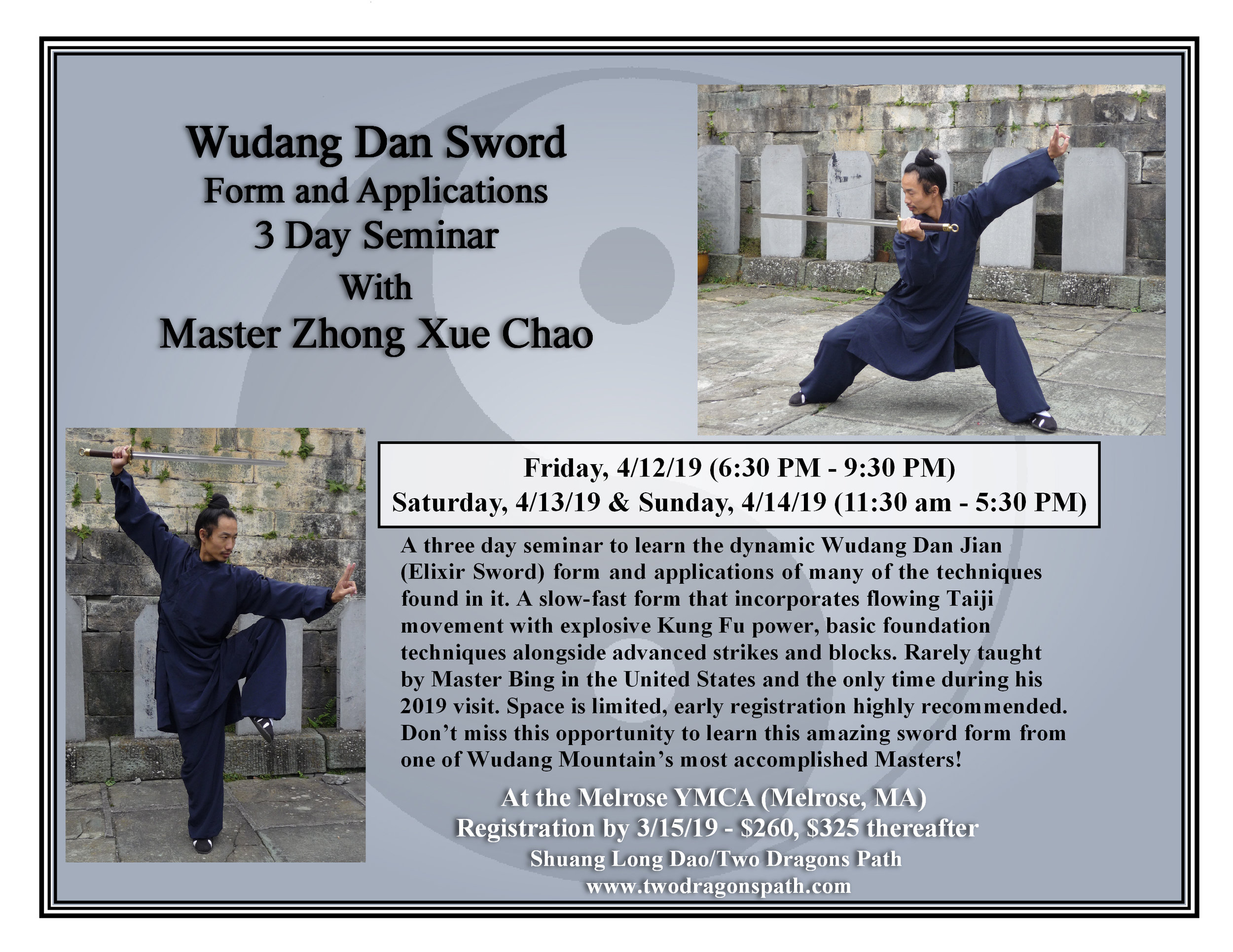 Wudang Dan Sword with Zhong XueChao