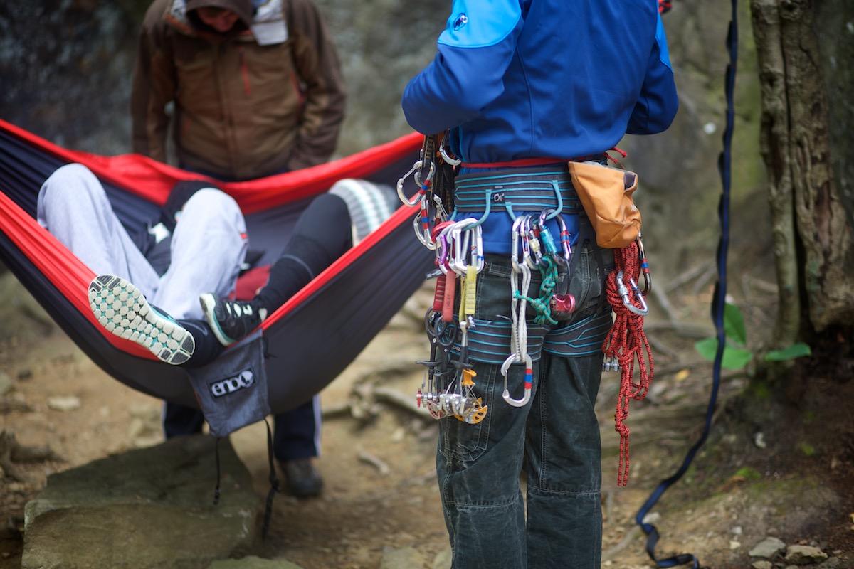 Dan's rack and harness