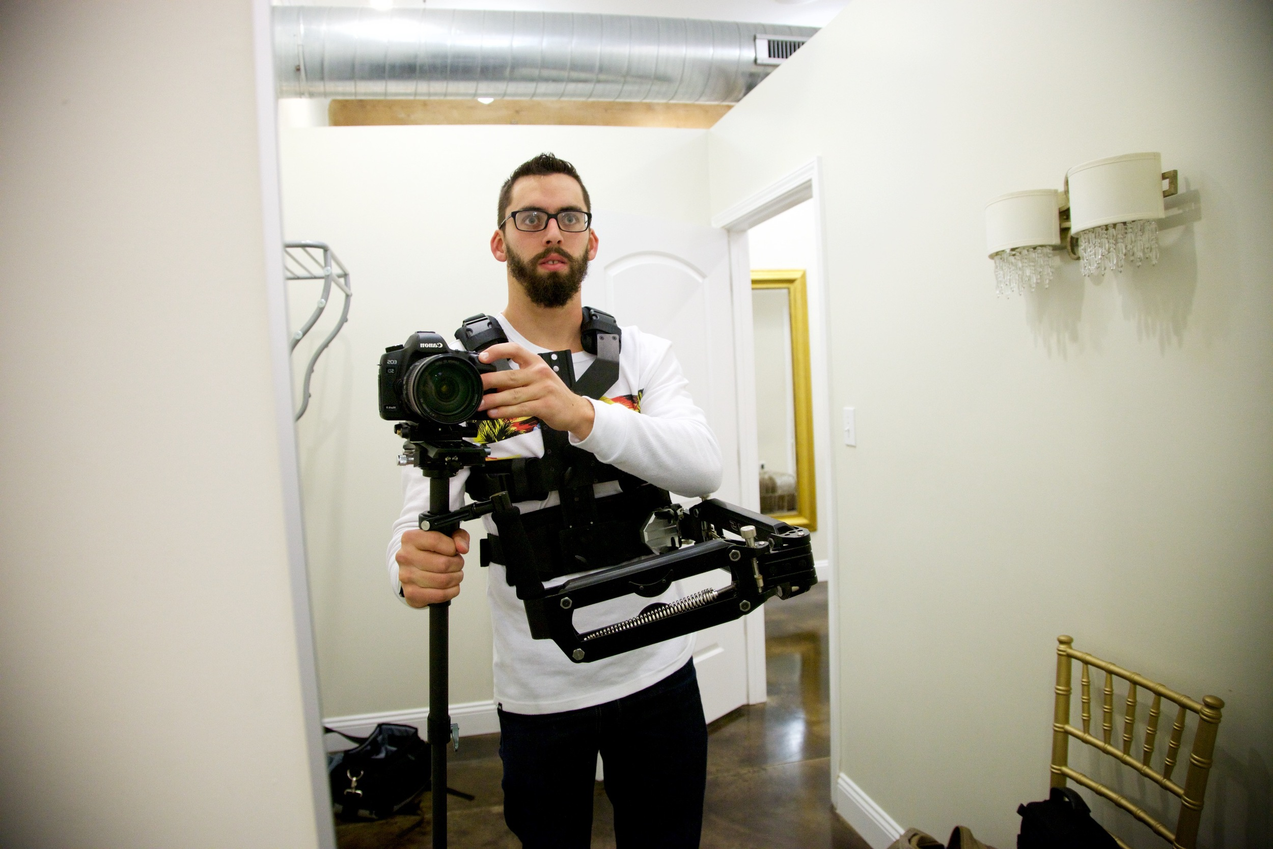Me with the full GildeCam (off brand) rig
