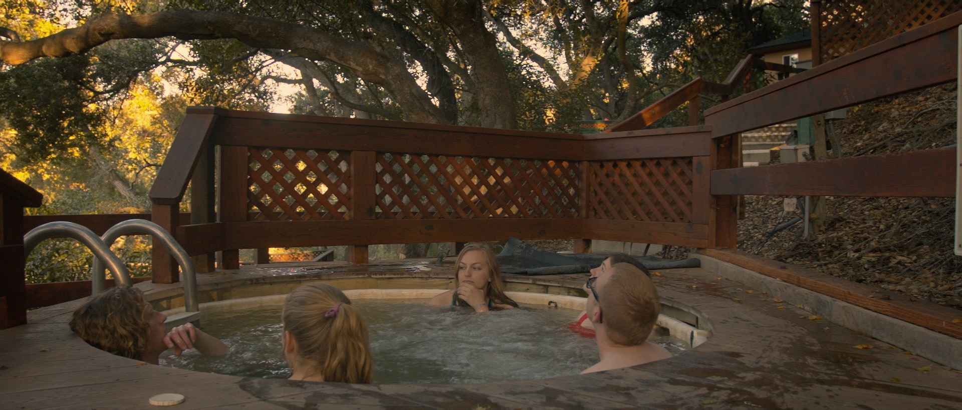 Just south of SLO is a resort offering heated mineral spring spas