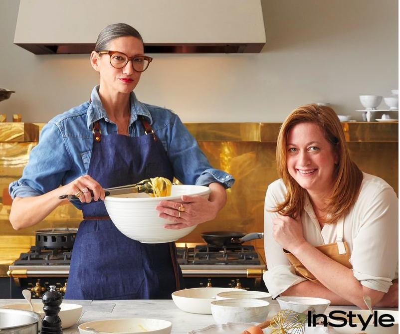 http://www.instyle.com/news/jenna-lyons-nyc-loft-missy-robbins-spaghetti-carbonara-recipe