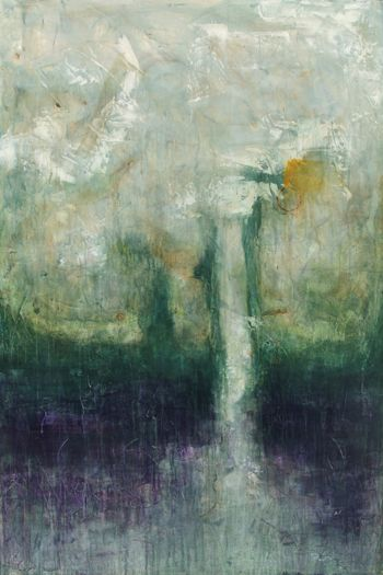 "Yearning  Oil and Acrylics on Canvas 40""x60"", 2009 Private Collection"