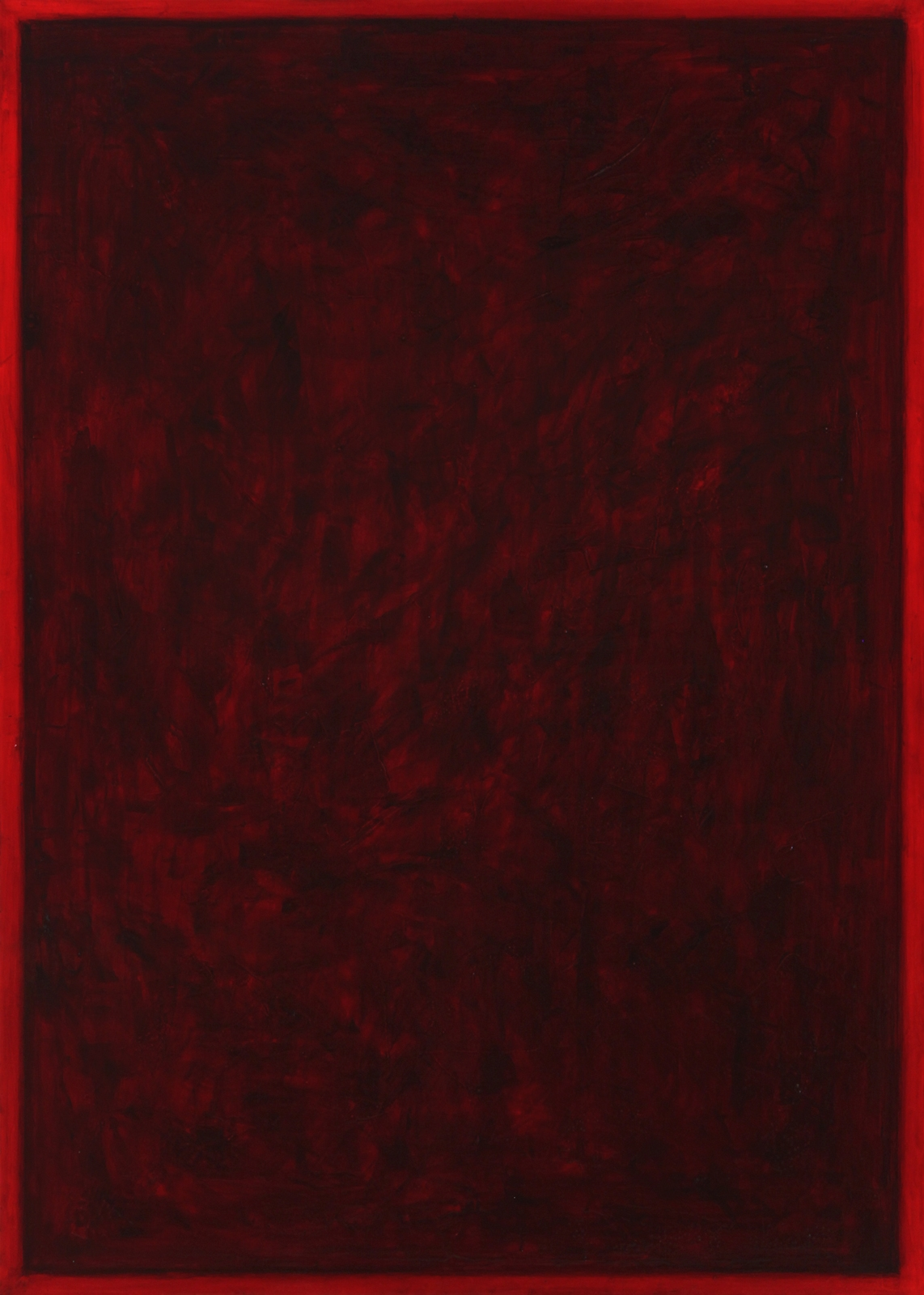 "(.604, .251) 28  , 2012 Oil, Pigment and Polymer on Canvas 70""x50"" Private Collection"