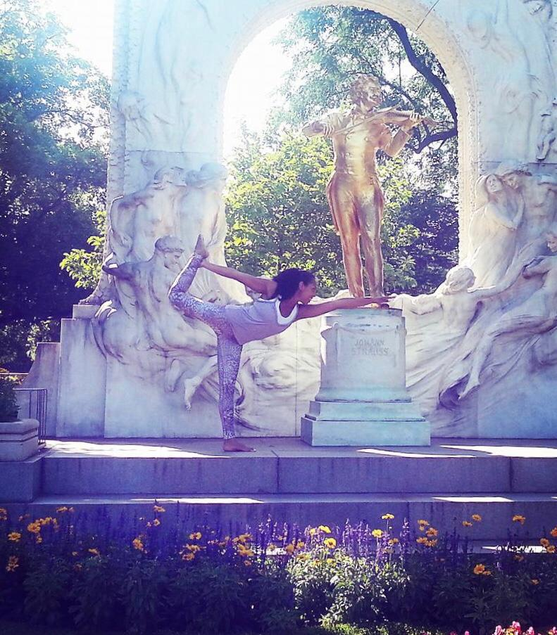 Jazz neben dem Johann-Strauß-Denkmal :)