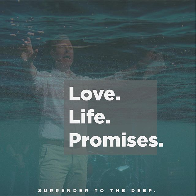 Sunday, Pastor Todd delivered a powerful word about receiving from God in order to go DEEP! What must we receive? God's love, God's life, and God's promises! How do you do that? Click the link in our bio to listen to this week's sermon and find out! #SurrendertotheDEEP #COTK
