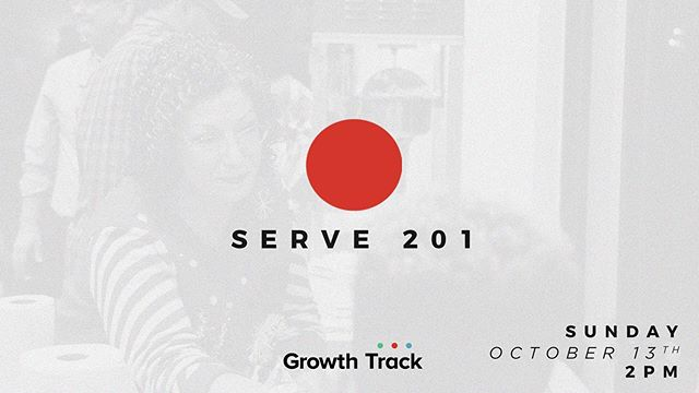 If you've been attending COTK but want to know how to begin serving on a team...Serve 201 is for you!! Join us this Sunday from 2-3 pm as we walk you through what it means to be a serving member! Want to attend? Regeister here https://www.eventbrite.com/e/60552589425 Lunch and childcare are provided.