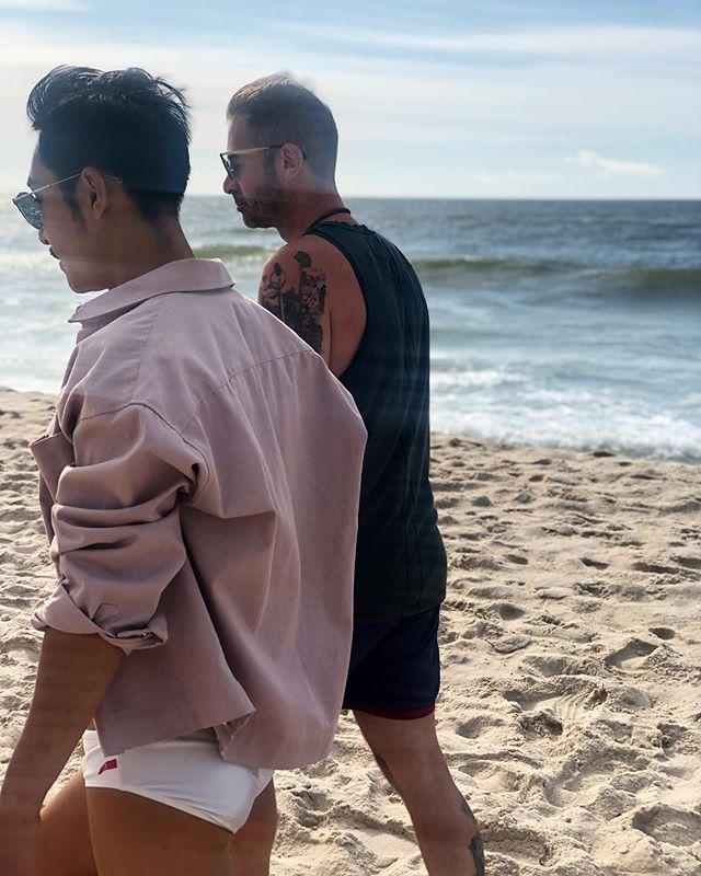 Laboring hard this weekend 👙☀️ . . . . . . . #FIP #fireislandpines #labordayweekend #beachday #beachlife🌴 #summer #summertime #nyc #happylaborday #weekendlife #beachweekend #beachparty #sandsunsurf #beachlover #instastyle #styleinspo #styleblogger