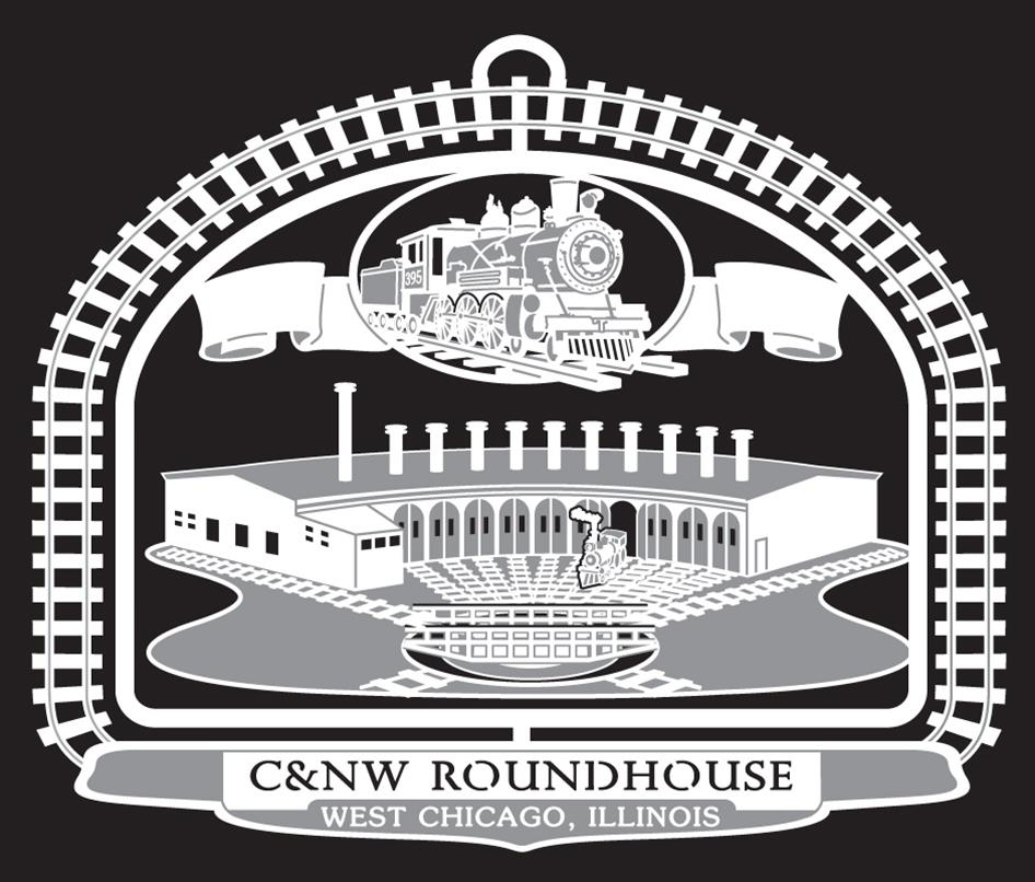2011- C&NW Roundhouse   This Chicago & North Western Railroad roundhouse was built in 1869. Steam locomotives were placed on a revolving 70-foot long steel turntable and backed into one of 13 engine stalls. The roundhouse and turntable were part of a large complex of buildings assembled for the repair and refueling of trains. In 1953 the roundhouse suffered a devastating fire; it was never rebuilt, as steam locomotives were soon replaced by diesel engines with reversible motion.