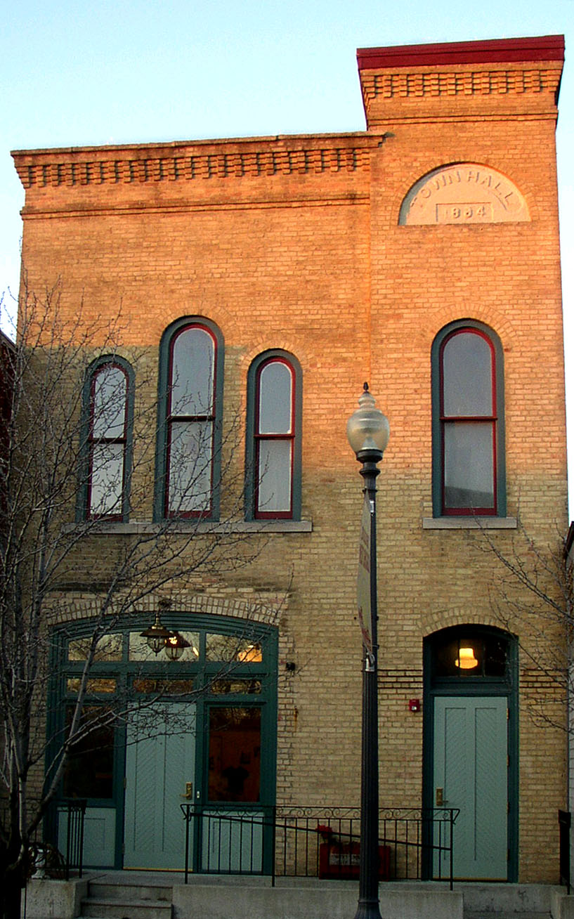 West Chicago City Museum, housed in the former Turner Town Hall. This building is on the National Register of Historic Places and dates to 1884.