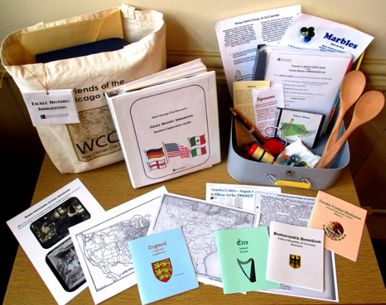 7th Grade Tackle History: Immigration Kit