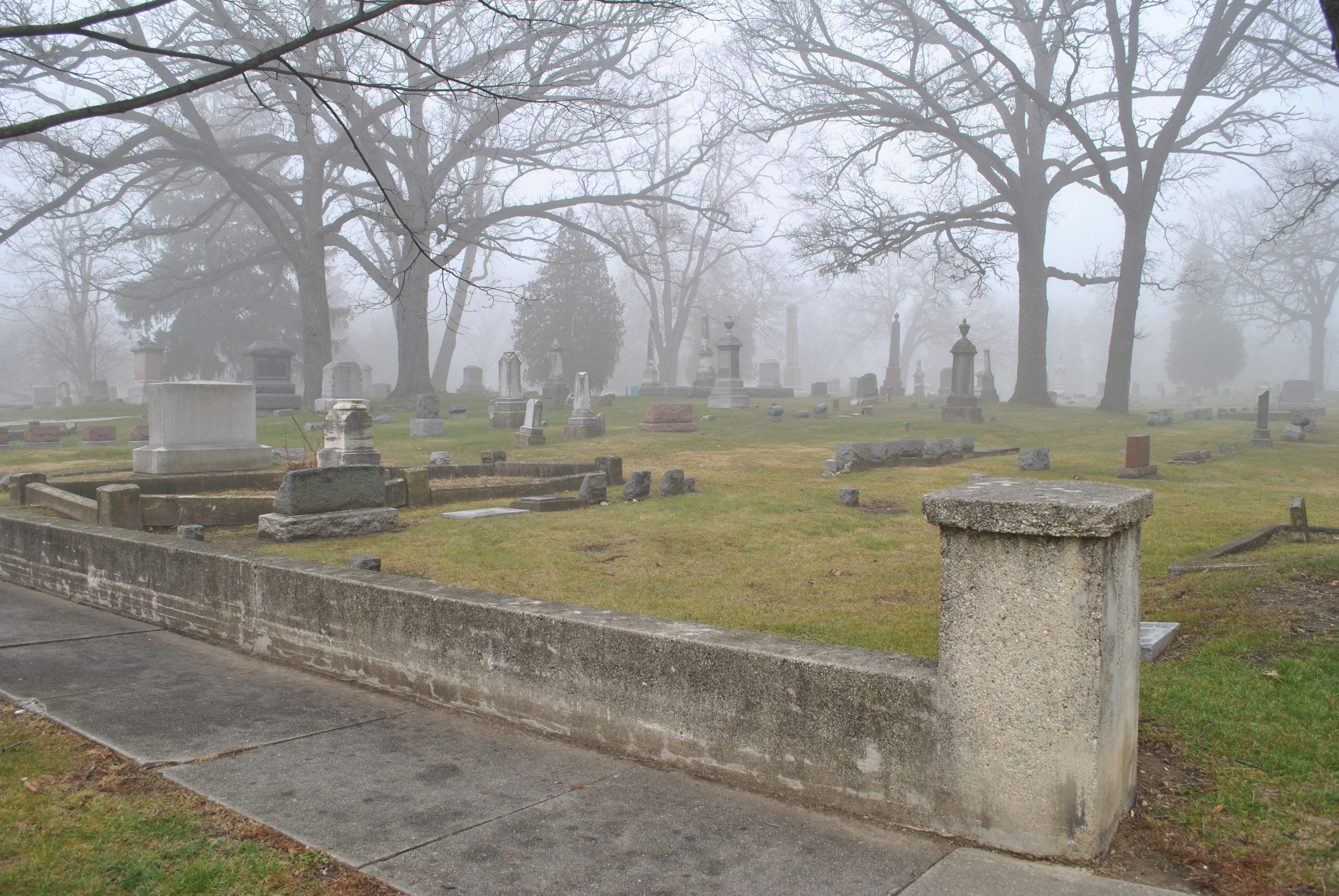 Oakwood Cemetery | Photo courtesy of Phil Weibler