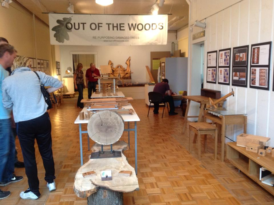 Museum-goers see Reed Kepler trees given new life in functional and decorative objects.
