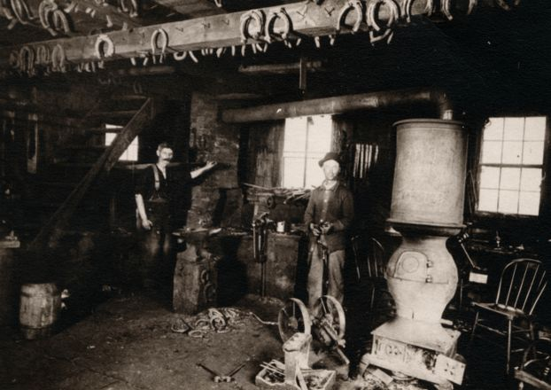Krimball's Blacksmith Shop (1885)