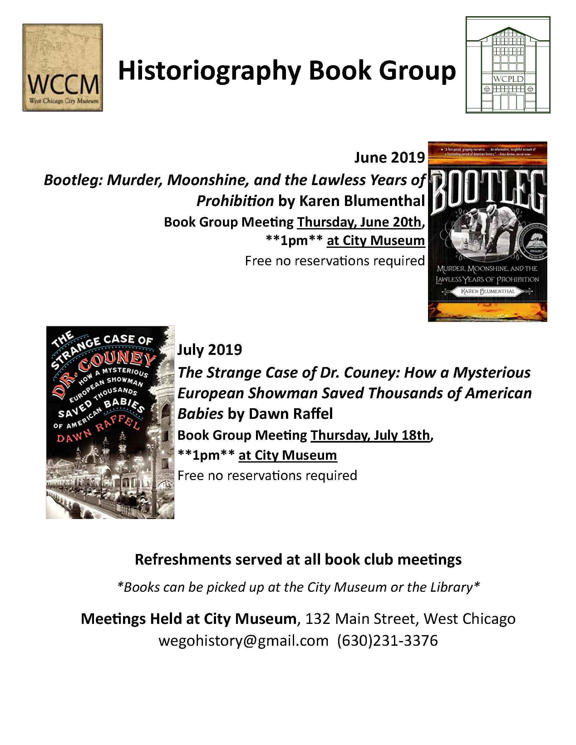 Events — Friends of the West Chicago City Museum