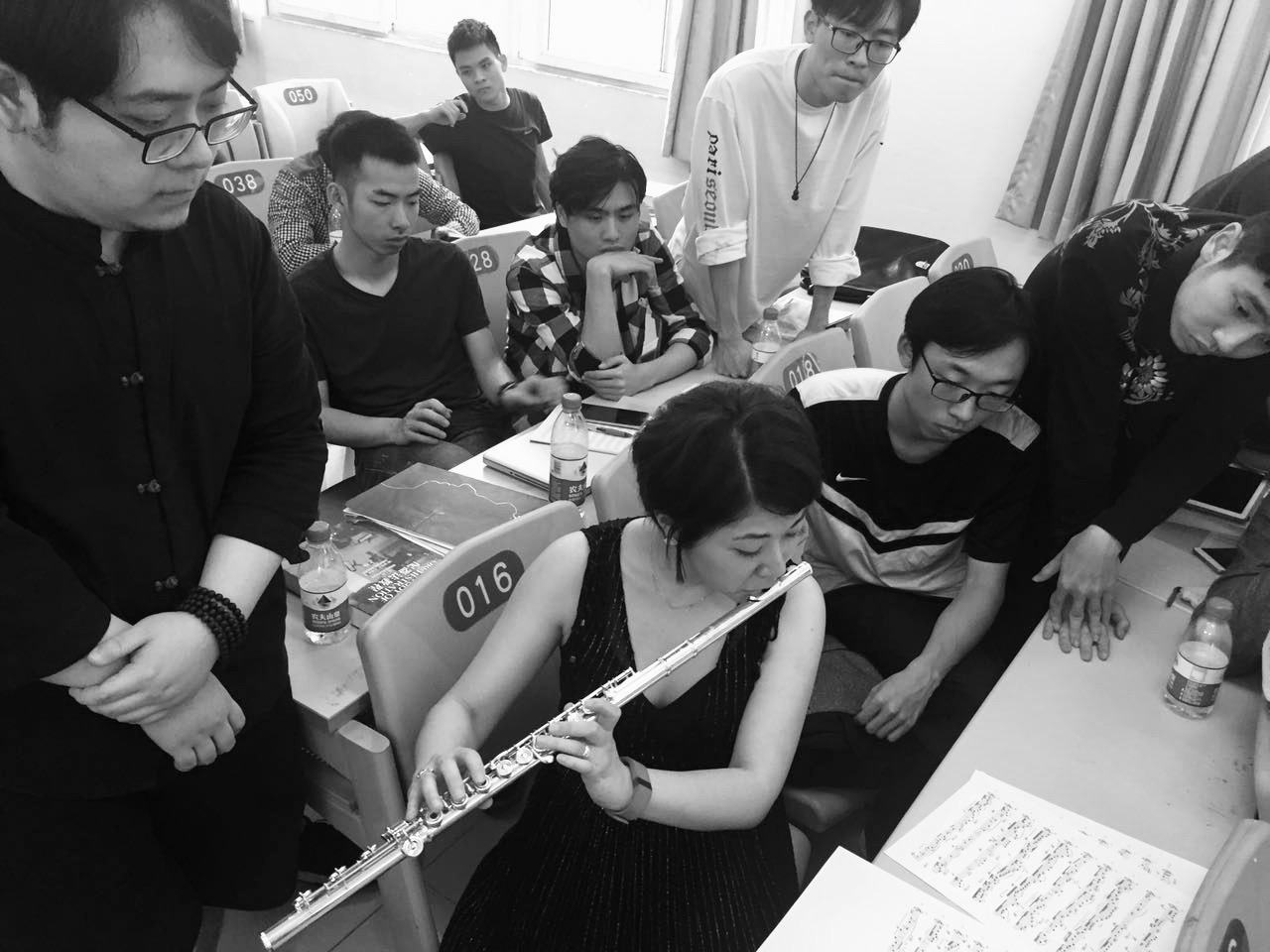 Workshop for composition student at Xinghai Conservatory of Music
