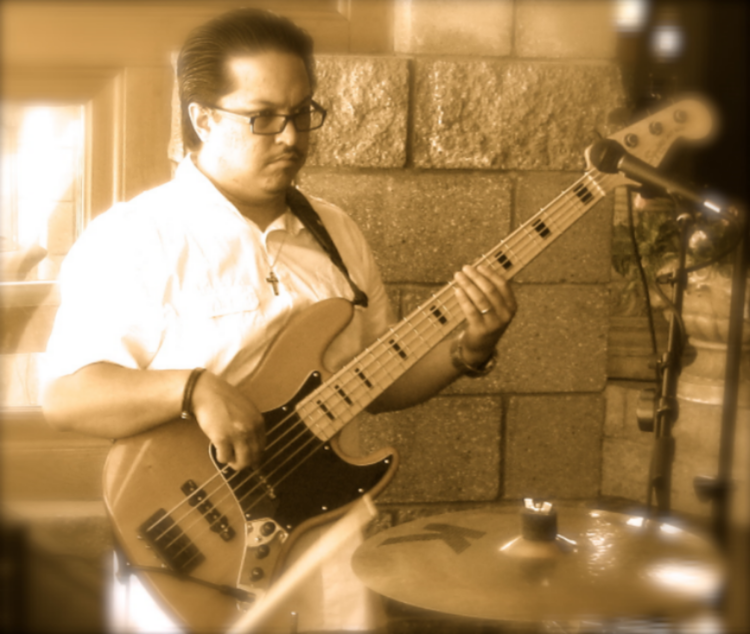 VINCE TEACHES PIANO, BASS, DRUMS, WOODWINDS AND BRASS.