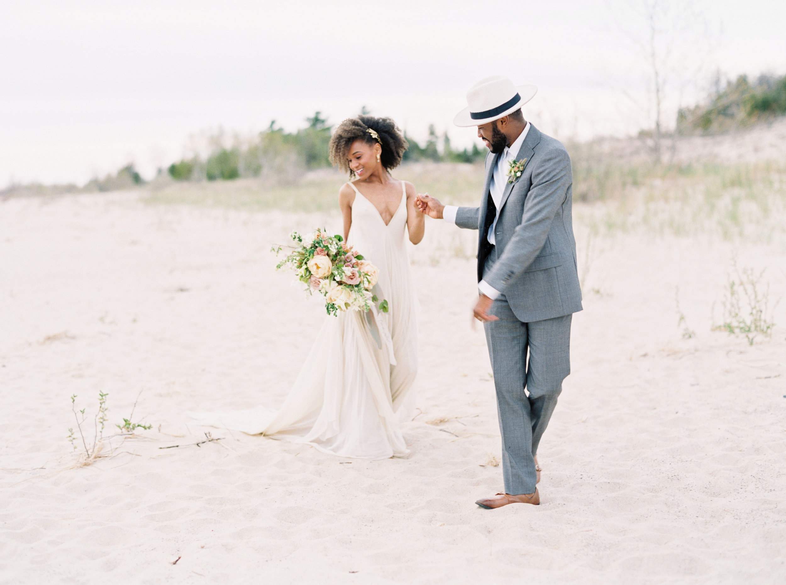 Charlevoix, MI Wedding | Elopement | Northern Michigan Wedding
