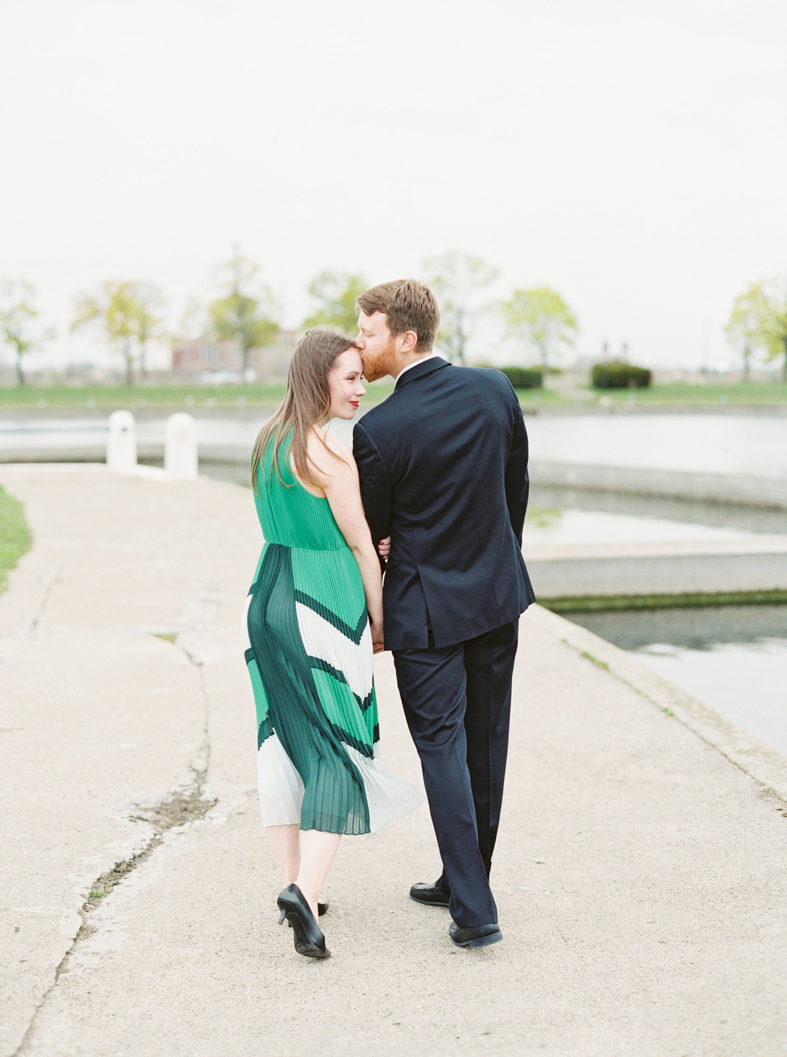 Belle Isle Engagement Session