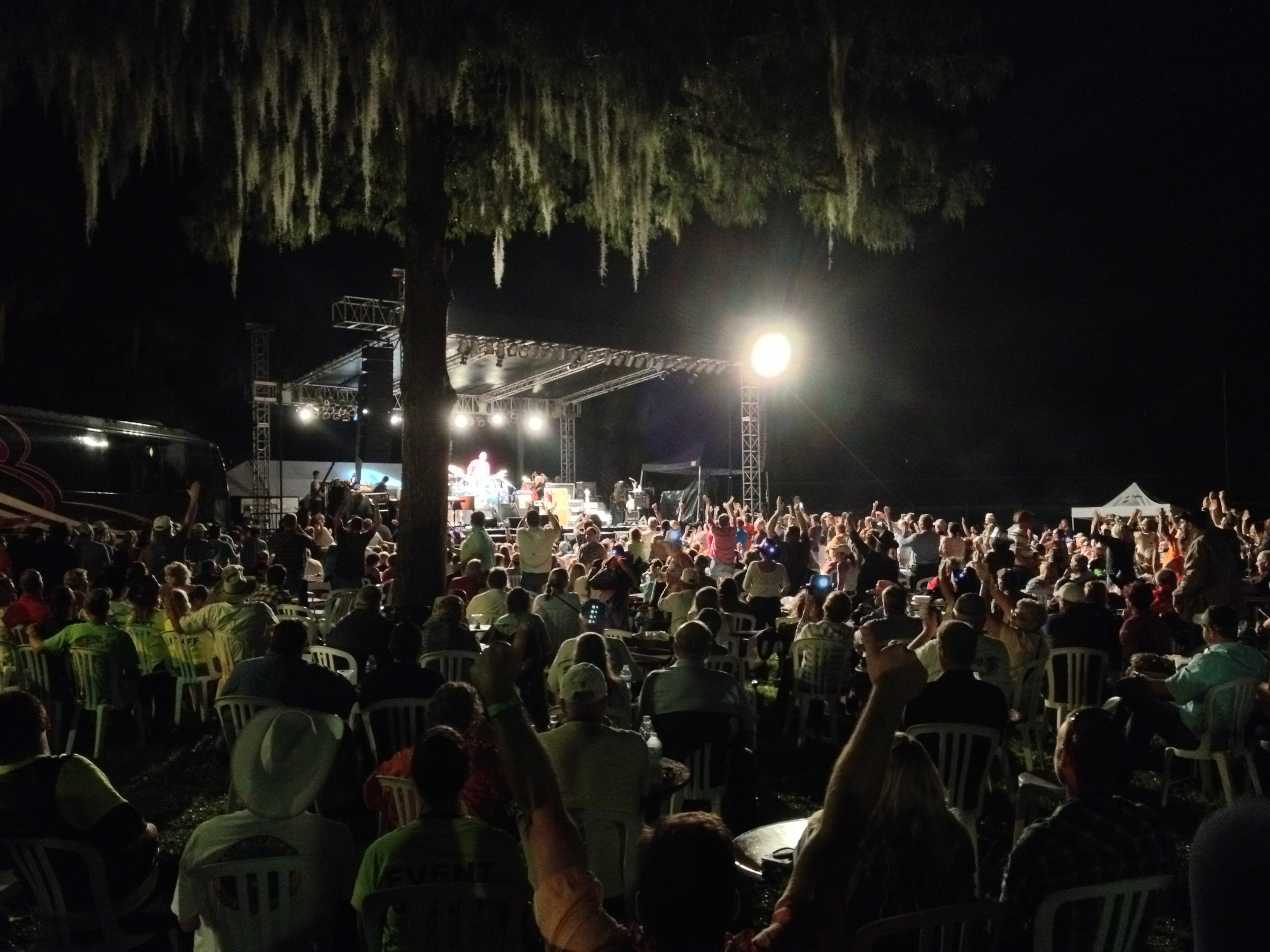 The Charlie Daniels Band firing up the crowd! September 27th, 2014