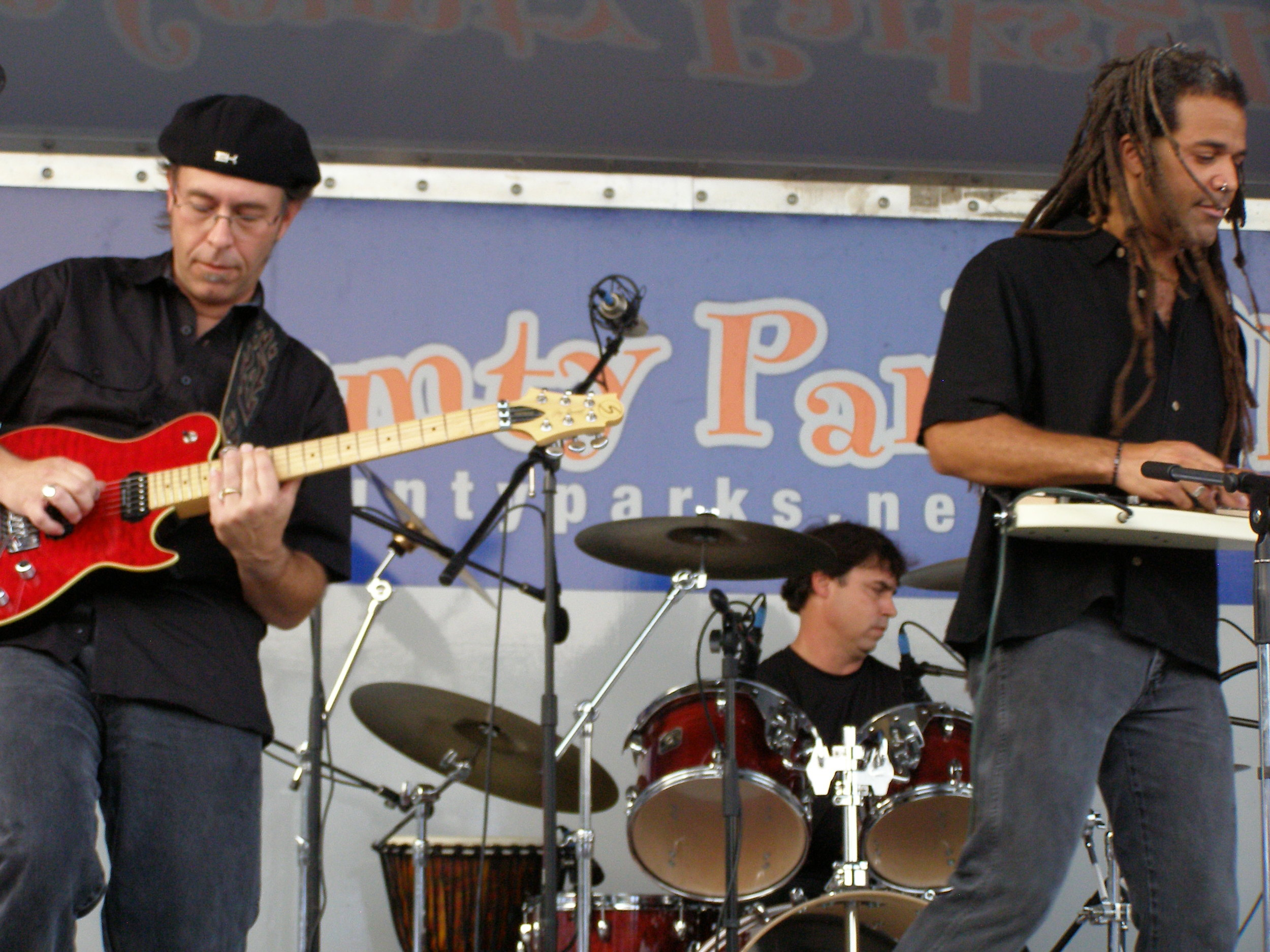 Performing with Mohave in 2008