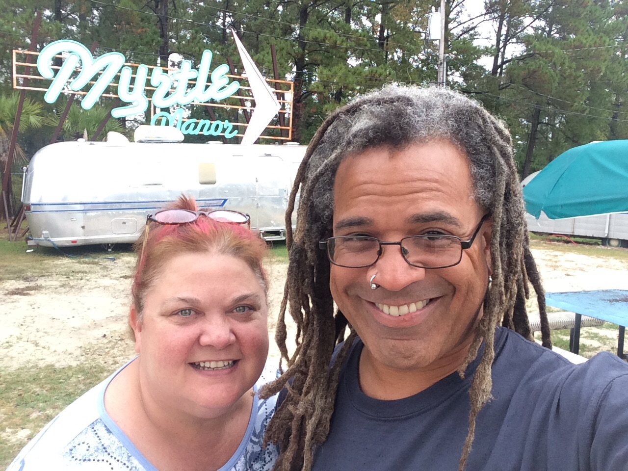 Most touristy thing we've done: visiting Myrtle Manor