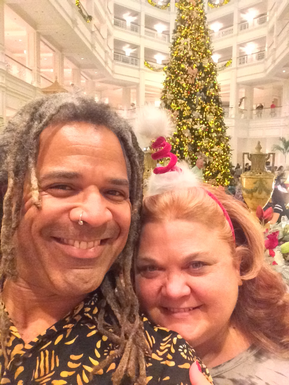 With my honey at Disney's Grand Floridian Resort!