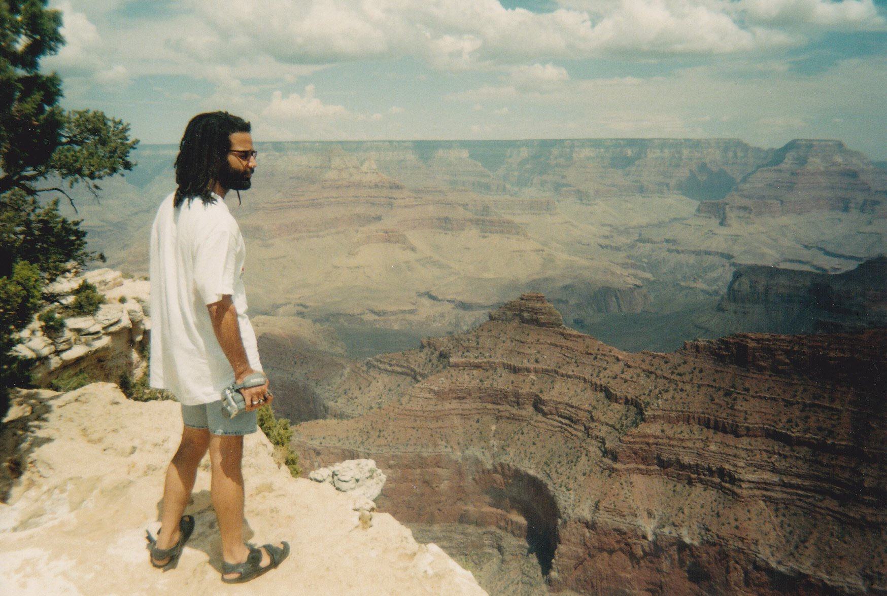 At the Grand Canyon back in the DAY!