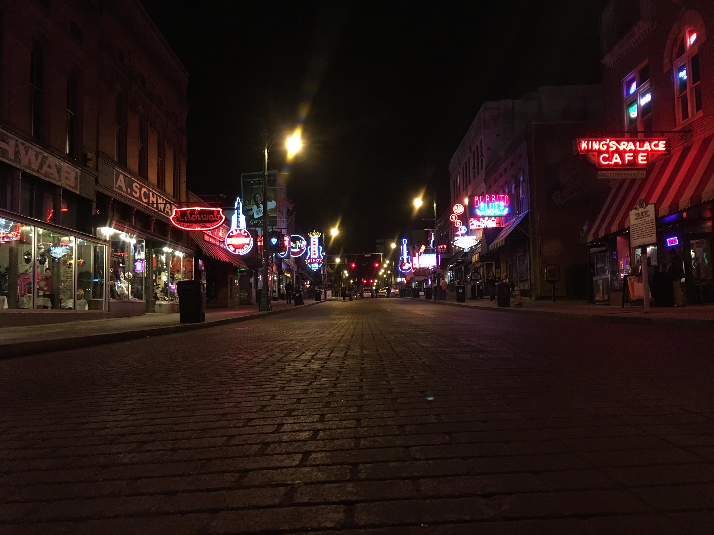 Beale Street - pre-Challenge