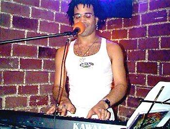 Performing at Java Jabbers, Orlando, Florida - 1998