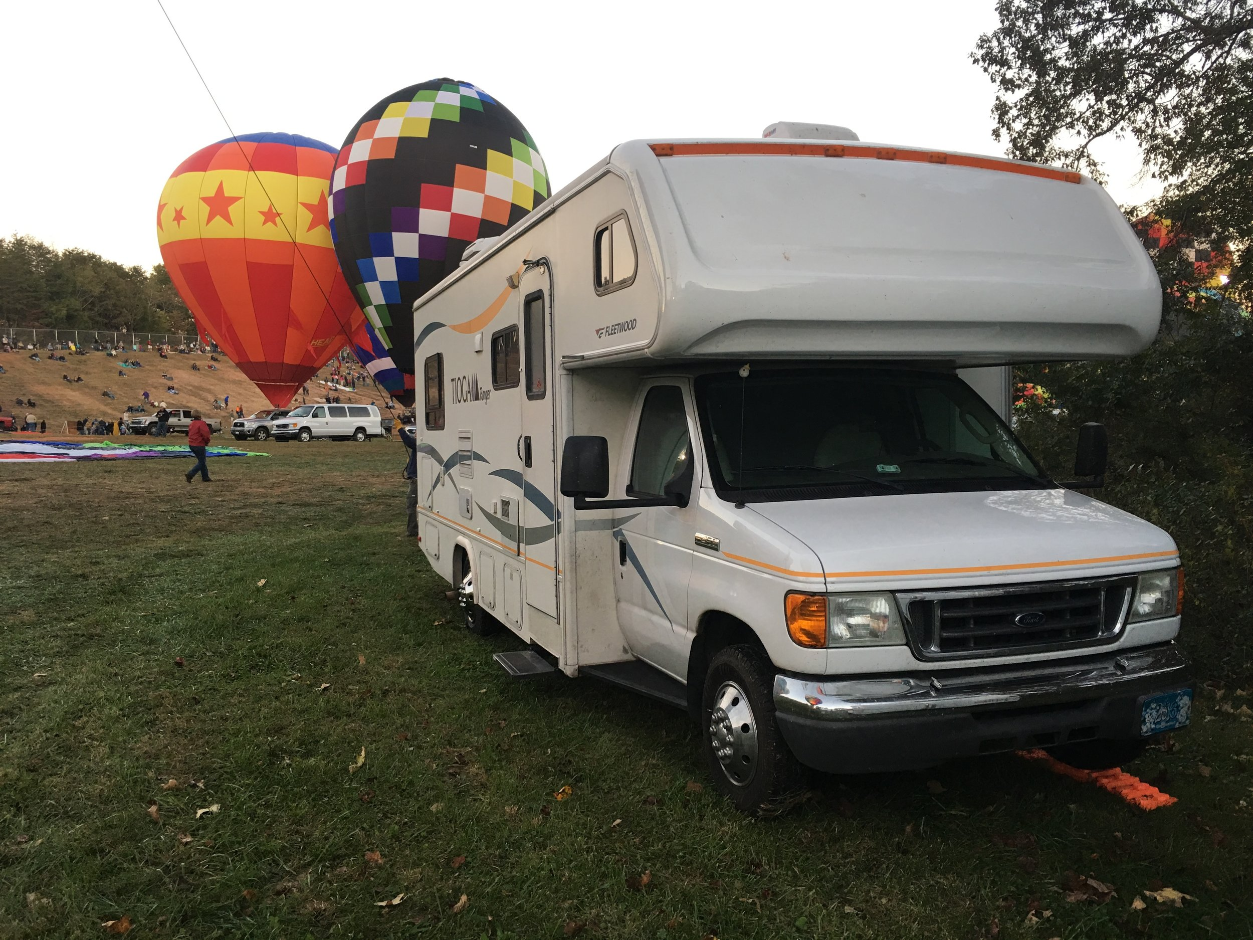 Imua camped at Carolina BalloonFest 2016