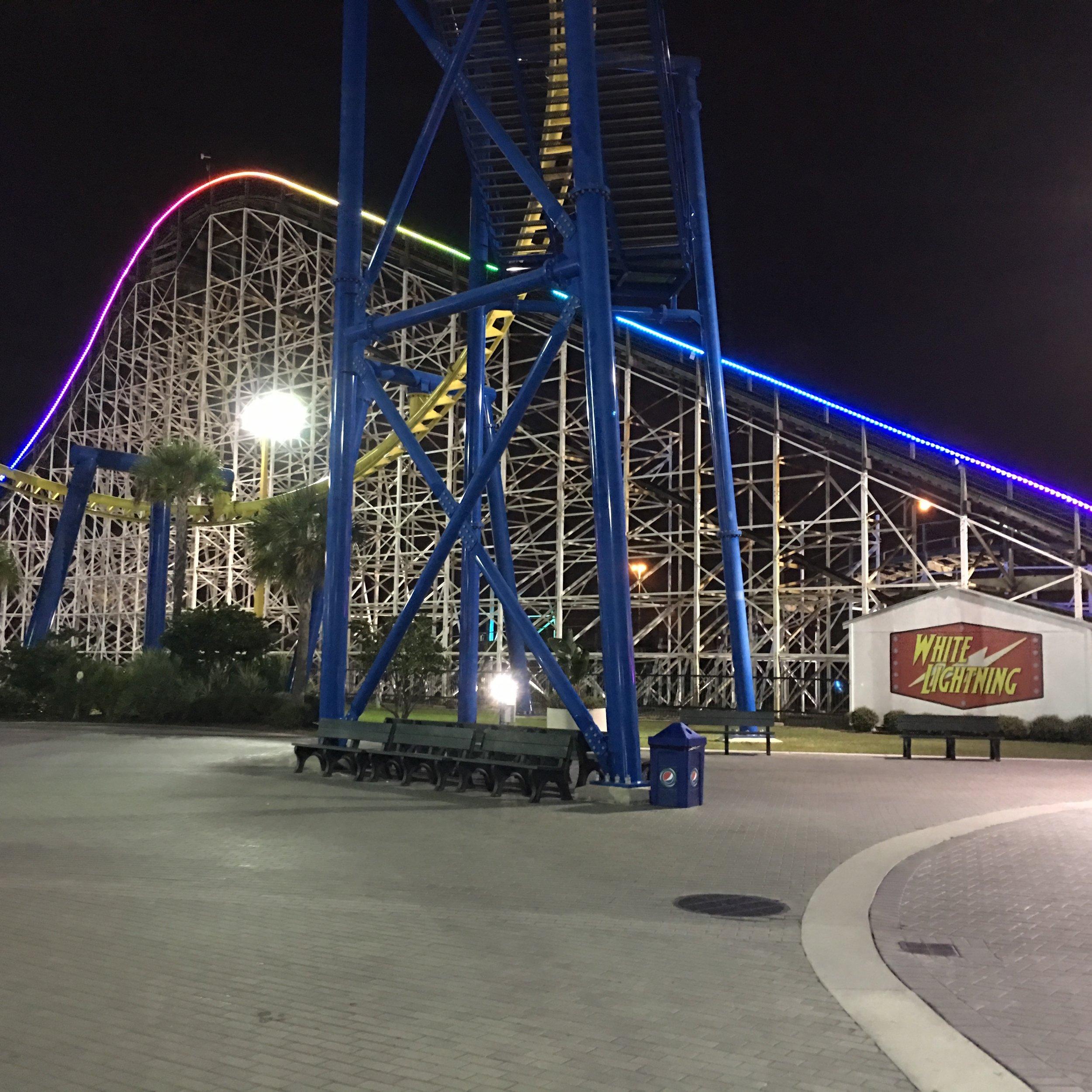 White Lightning at Fun Spot America