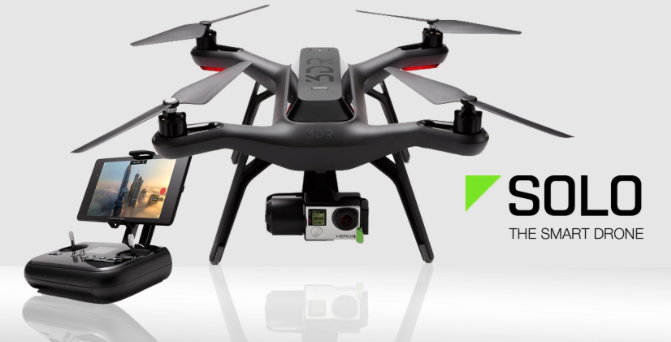 Nope, not one of those either. 3DR Solo FPV Quadcopter with 3-Axis Gimbal