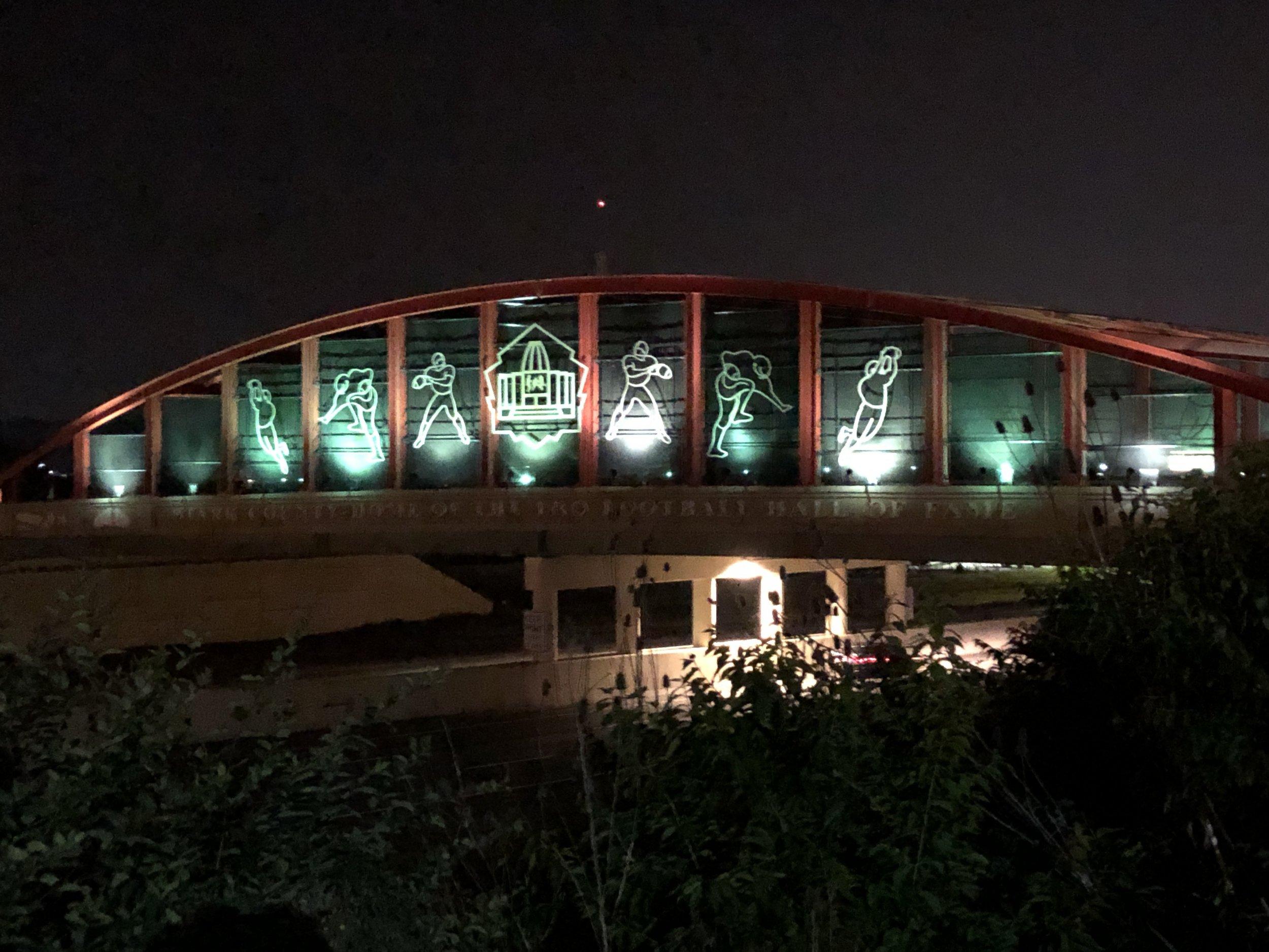 The Hall Of Fame Bridge - Canton, Ohio