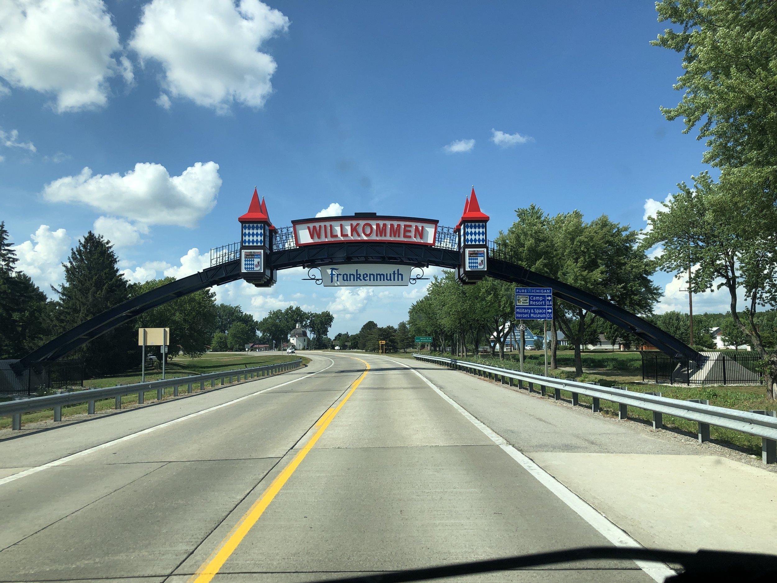 What a cute little town! Frankenmuth, Michigan.