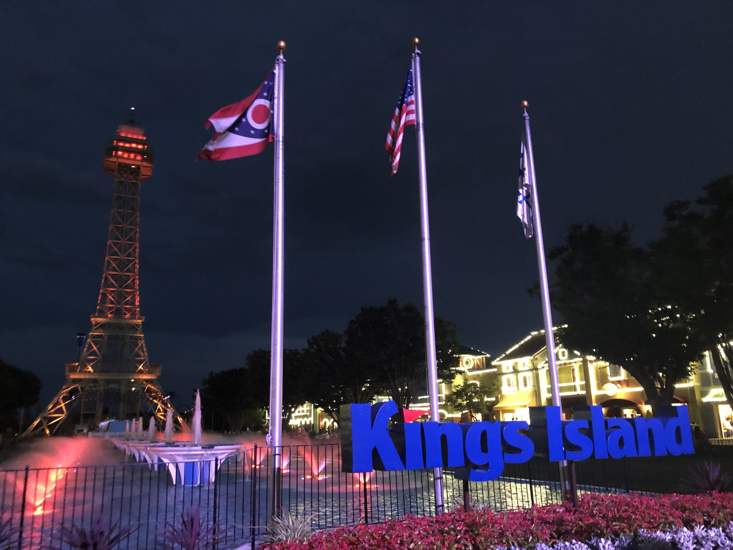 Hoping to visit sister park Kings Dominion in August.