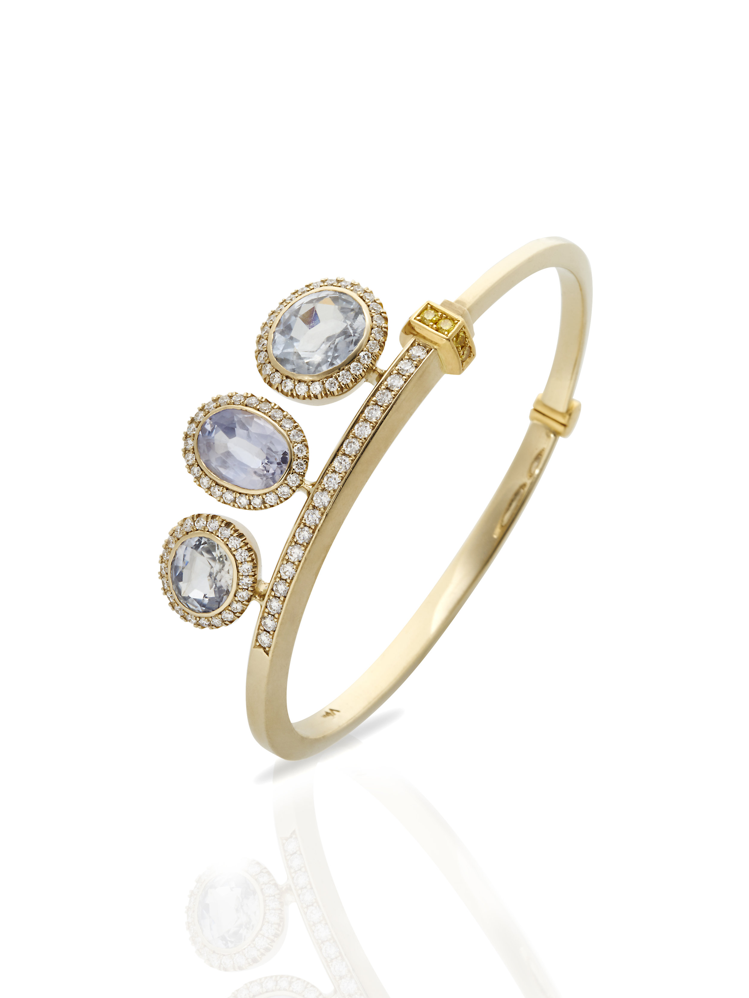 STELLA BRACELET   1.42 CT OF DIAMONDS 8.0 CT SAPPHIRES      Contact for inquiry