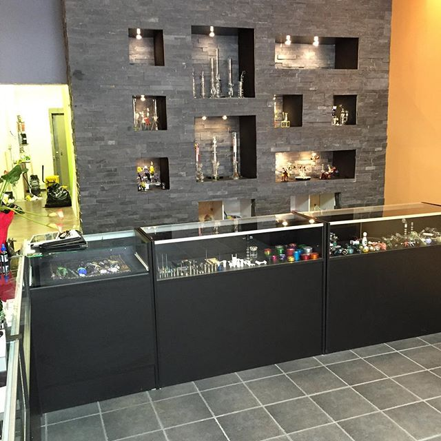 Drip Glass & Vape!!! One of our good clients. Check them out 10714 Jasper ave