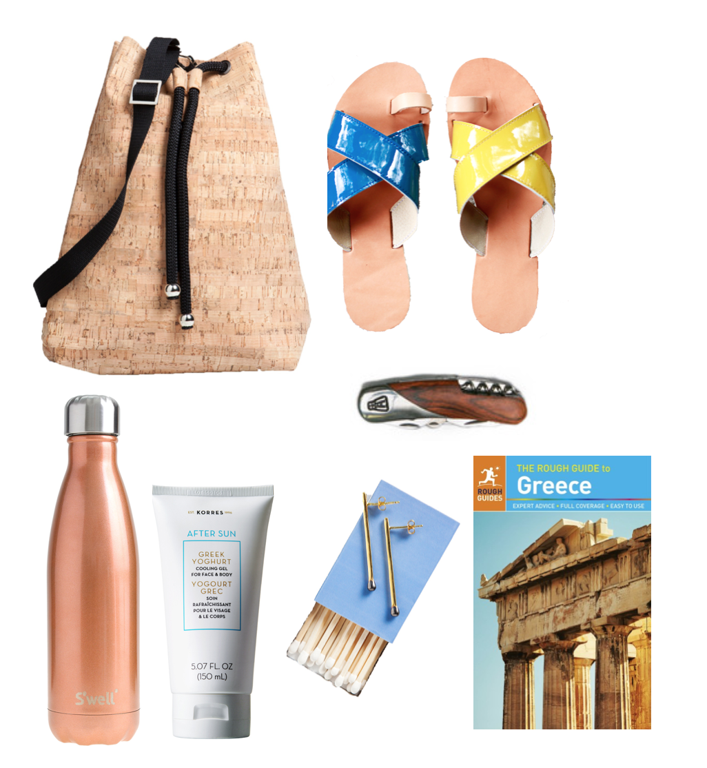 ANGELIKI travel essentials for travel to Greece