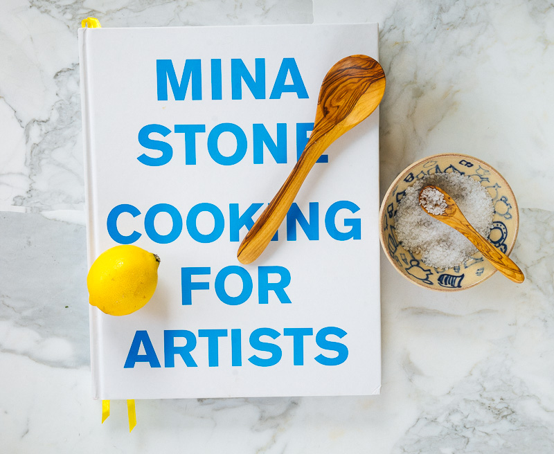 cooking with artists mina stone