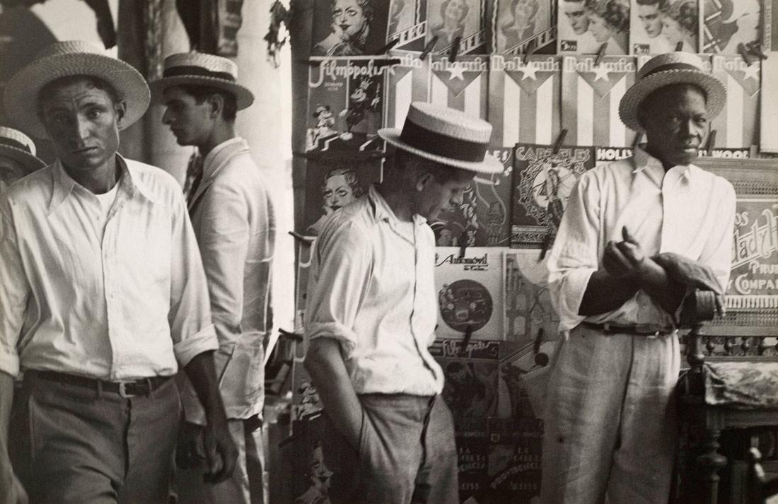 Walker Evans  (1903–1975)   People in Downtown Havana   1933   Gelatin silver print   © Walker Evans Archive, The Metropolitan Museum of Art   The Metropolitan Museum of Art, Gift of Lincoln Kirstein, 1952, 52.562.7