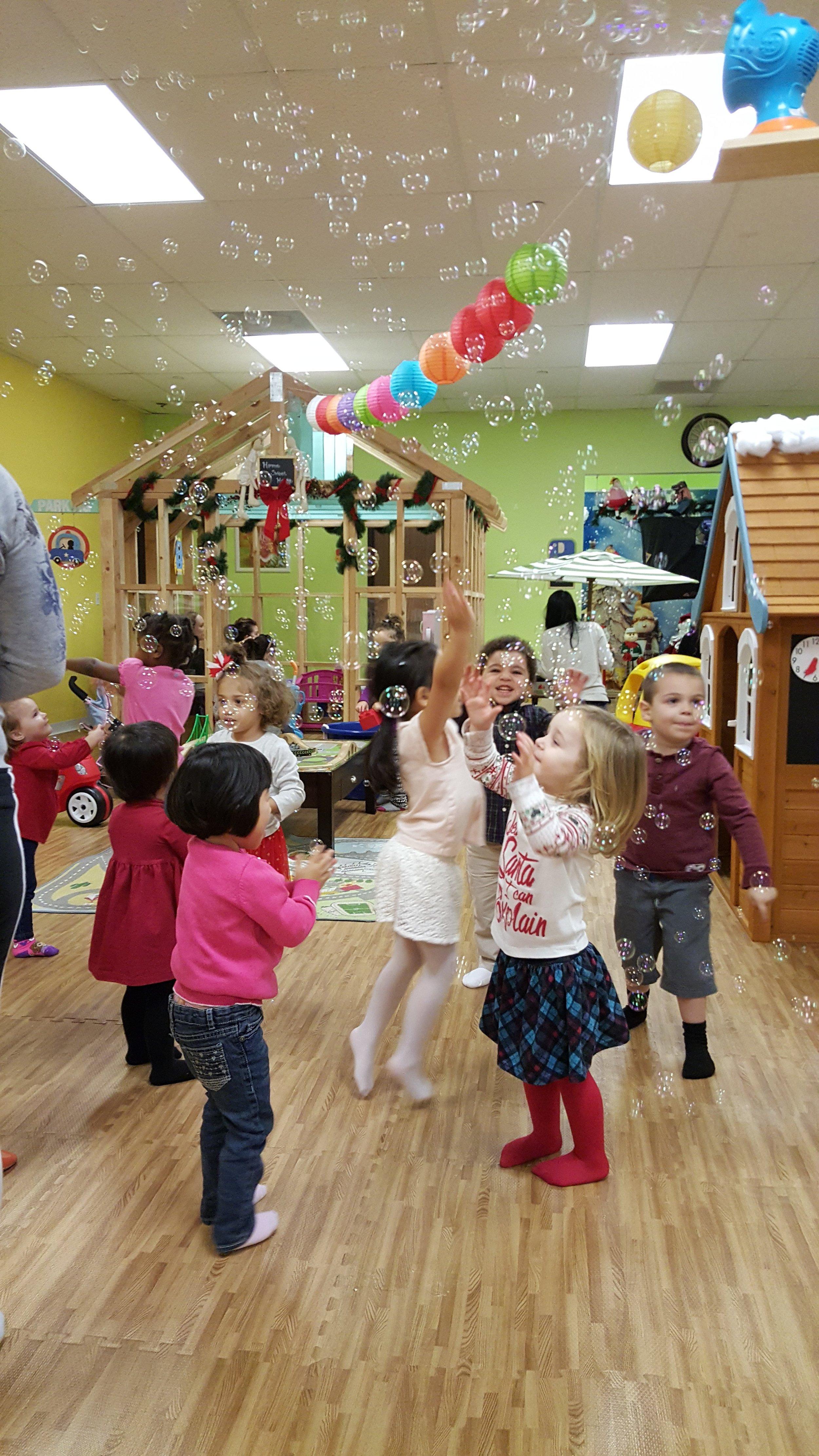 Party Activity - BUBBLE TIME