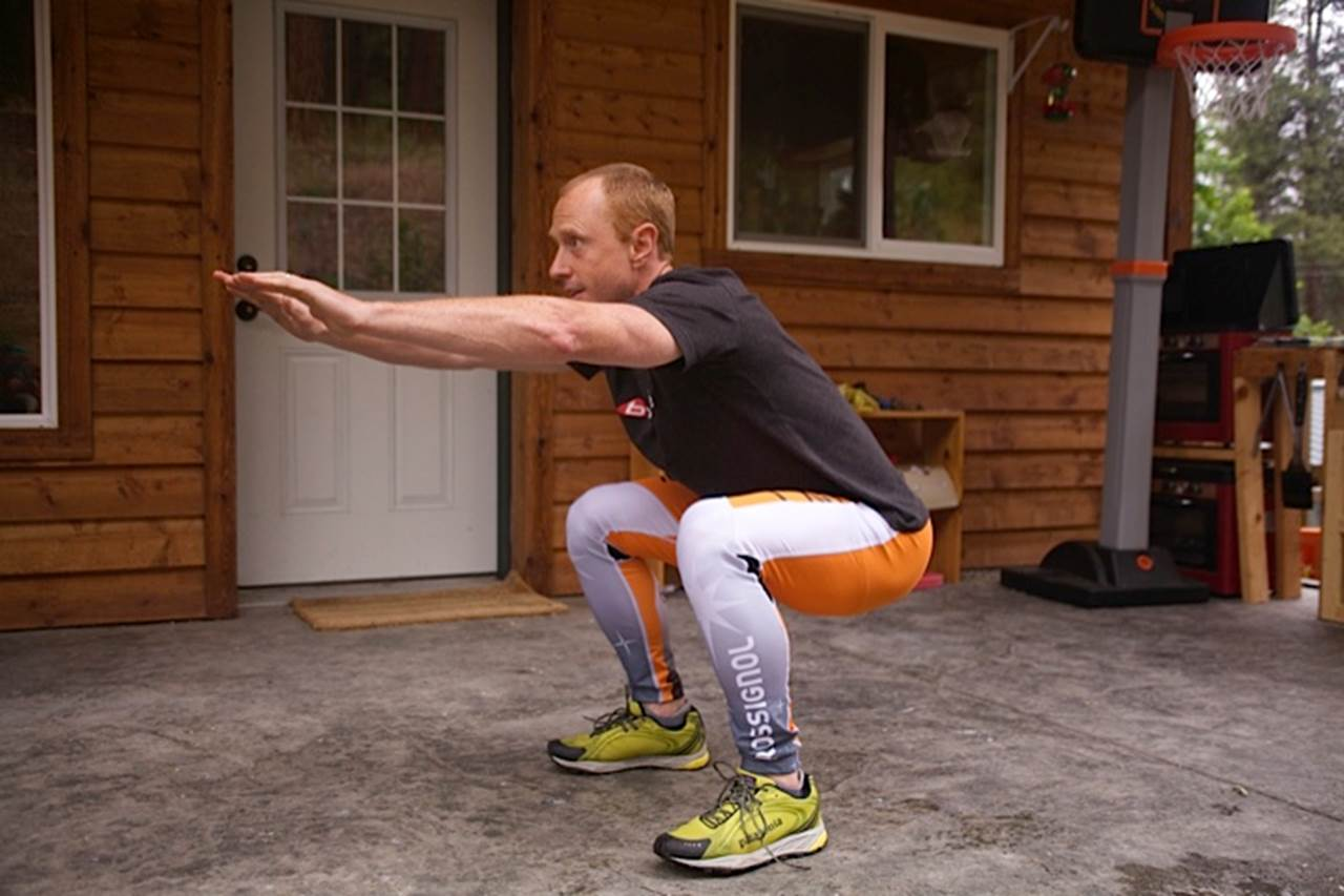 Easy body weight squats might be the best exercise you can ever do!