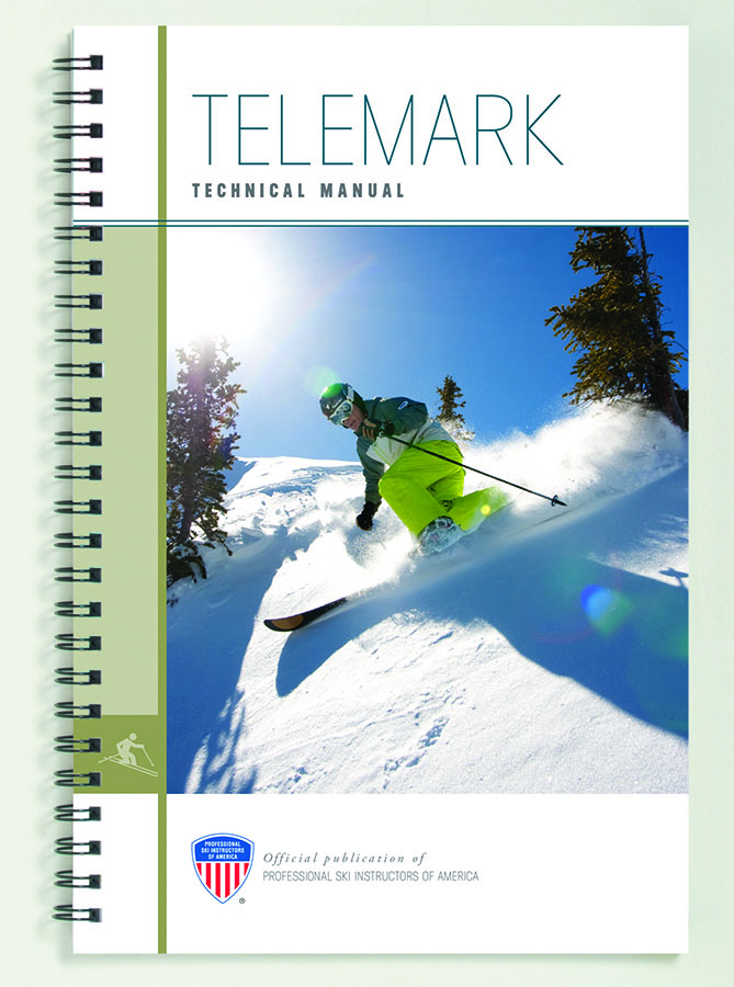 The new PSIA Telemark Manual.