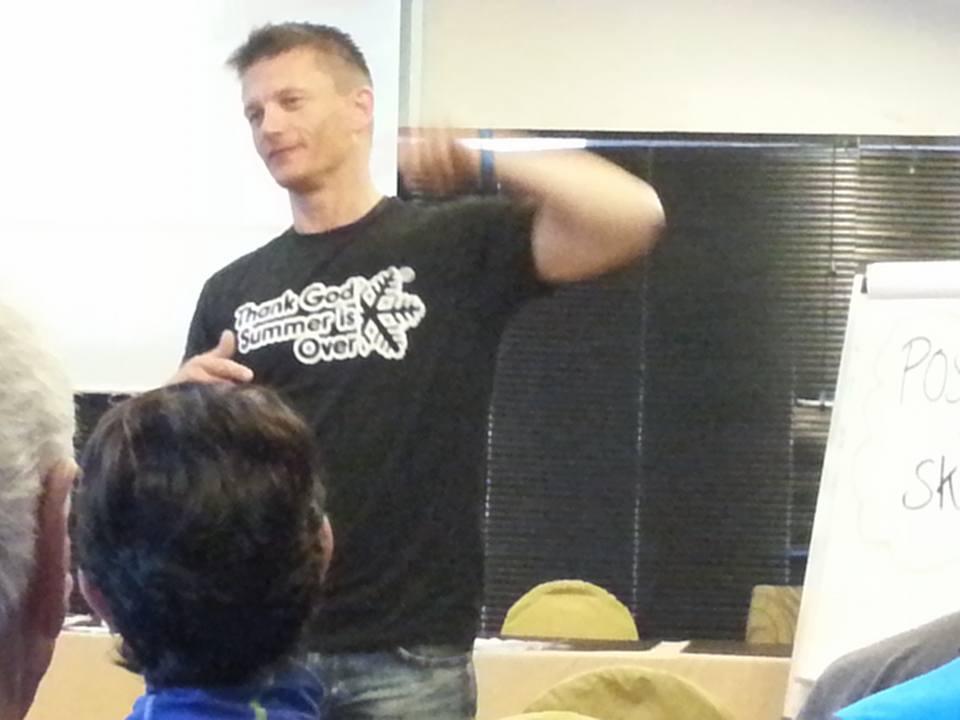 danish indoor presentation on positive mental training