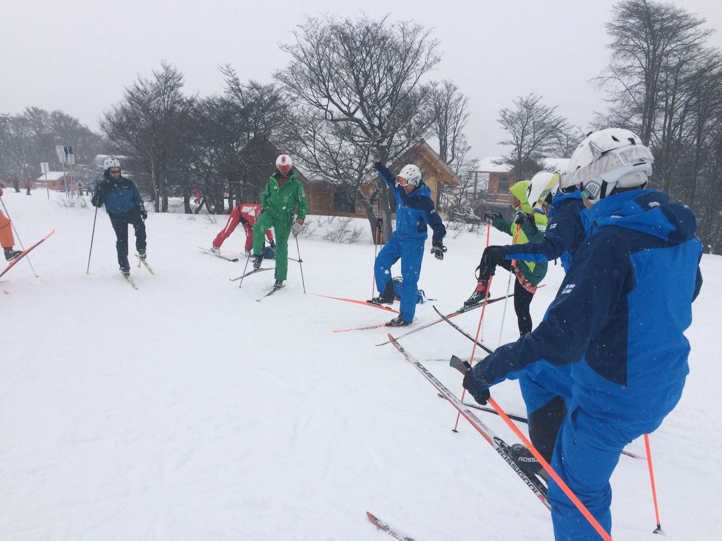 Finland on snow brought the XC skiers onto the slopes of Cerra Castor!