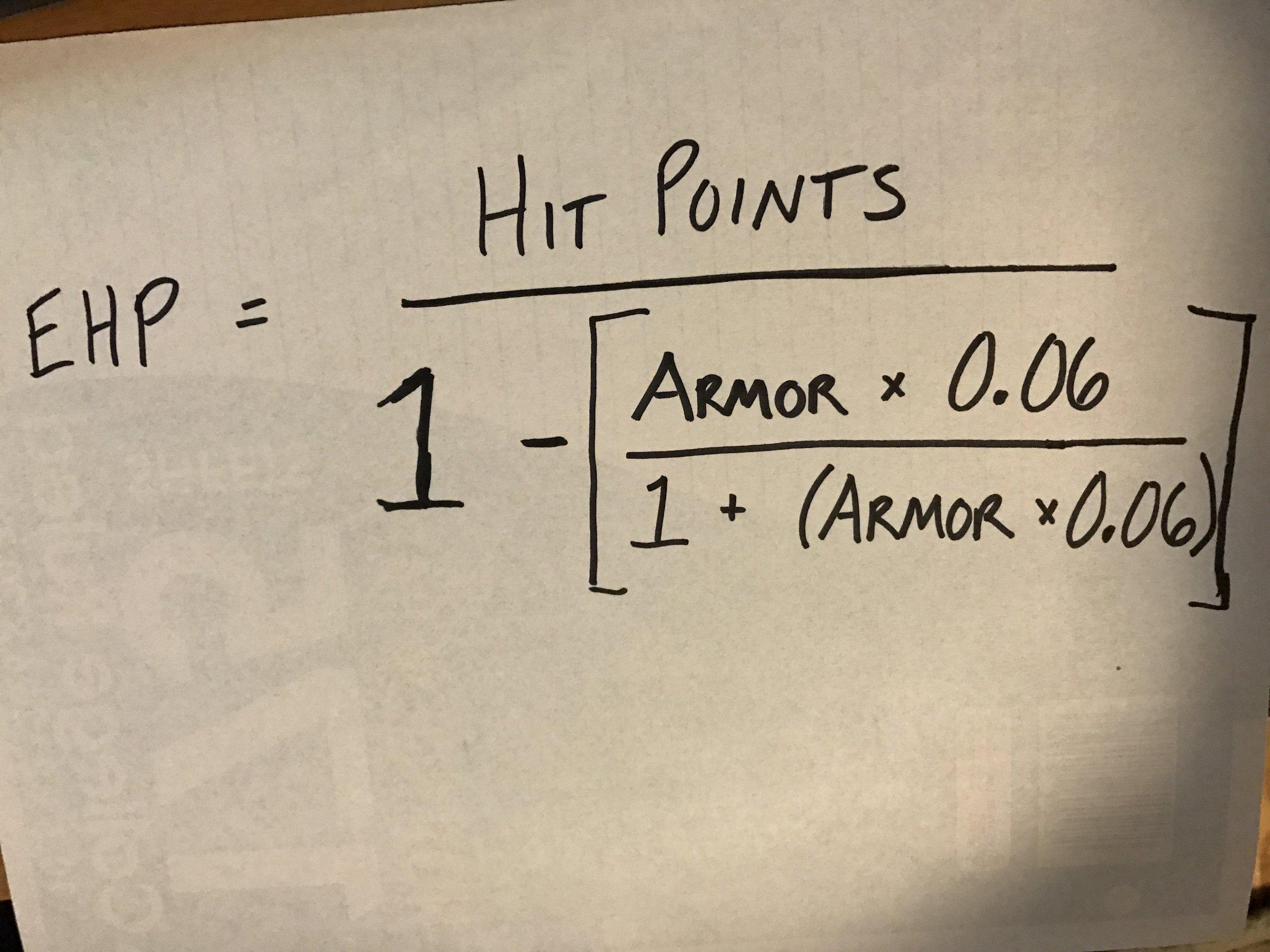 Effective HP!