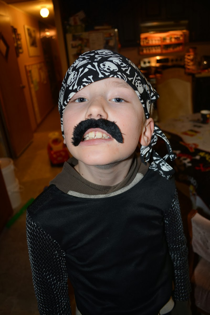 """Argh!"" says Pirate Noah"