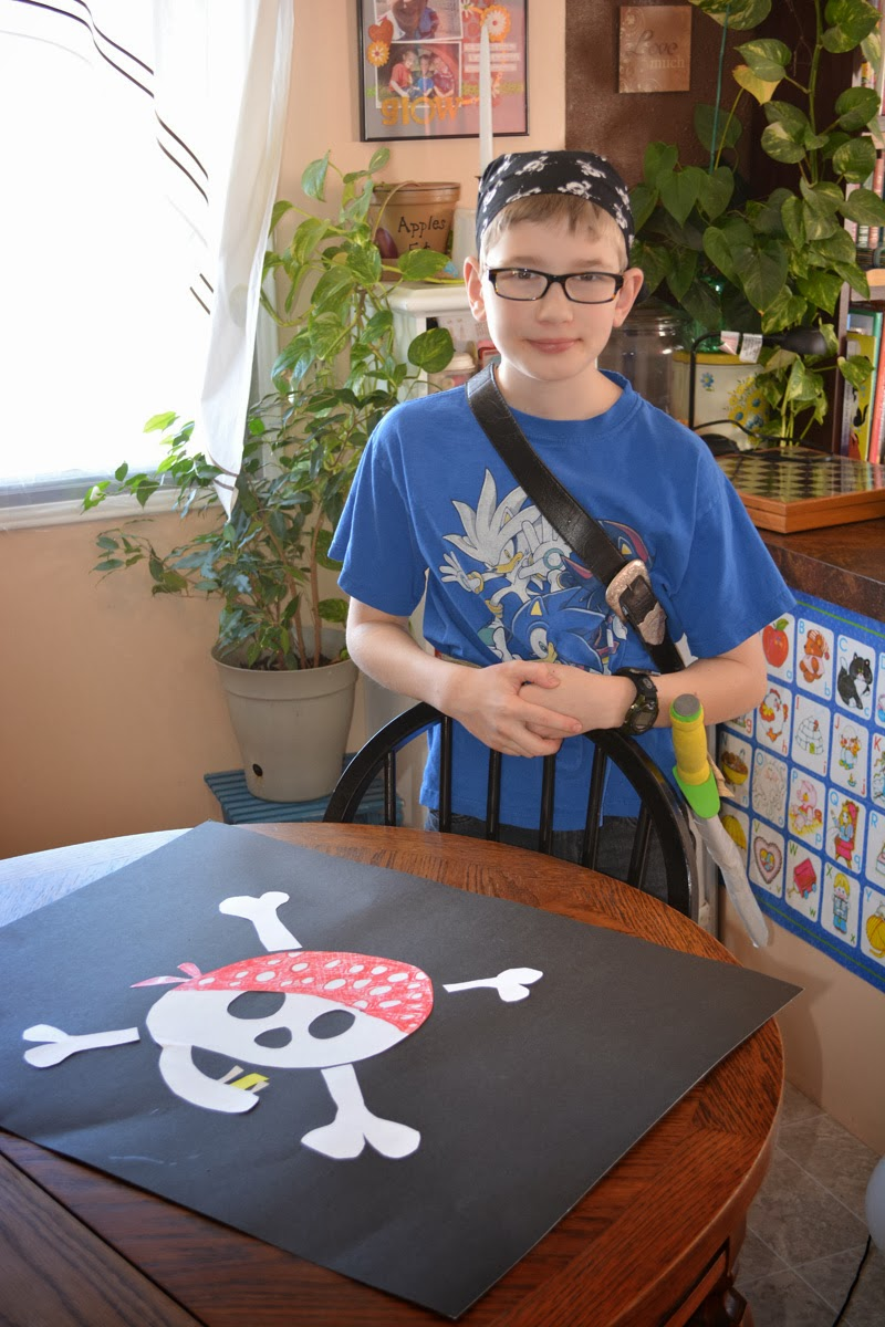 Jude and his Jolly Roger
